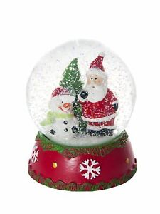 Mousehouse Children's Father Christmas Musical Snow Globe Home Decoration