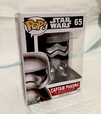 Funko P.O.P No.65 Star Wars Captain Phasma PVC POP Figure Figurine New In Box