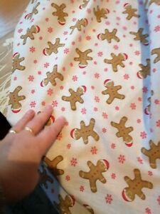 Tablecloth Gingerbread Man new colour  christmas  square table made to measure