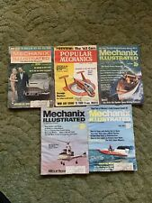 Mechanix Illustrated 1961 - 1971 Magazines Lot Of 5