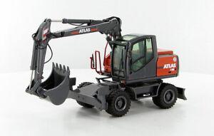 NZG 1/50 Atlas 140W Mobile Excavator  #837