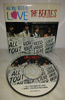CD BEATLES - ALL YOU NEED IS LOVE - SINGOLO - EX++