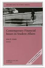NEW Contemporary Financial Issues in Student Affairs by SS Paperback Book (Engli