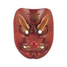 Tengu Japanese Iron Noh Mask Handcaft Takaoka Traditional craft Japan