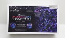 NEW Premier 160 LED Colour Changing Connectable Net Light Indoor / Outdoor Use