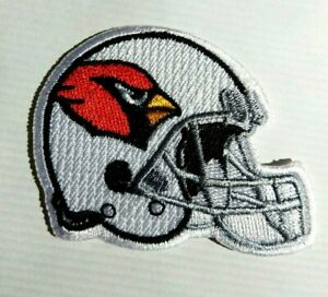 St. Louis CARDINALS Helmet Patch, NFL,  New-Iron On, Collectible, FREE Ship.-USA