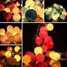 3M 20 LED Bola Cadena Luces luz Decoración Para Casa Jardín Navidad Boda Fiesta