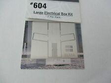 Atlas #BLMA604 Large Electrical Box Kit  2 Per Pack N-Scale