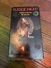 Pledge Night Vhs Horror Not Big Box