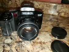 Minolta Maxxum 5000i Quantaray 50mm lens   ca.