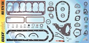 BEST Full Engine Gasket Set for AMC Rambler Nash 184 196 Flathead L-Head 1953-65