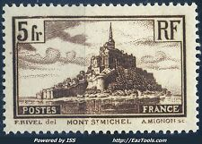 FRANCE N° 260 NEUF * AVEC CHARNIERE (BL)