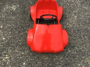 Vintage Triang Red  Pedal Driven Car
