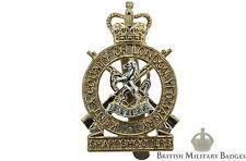 STAYBRITE: Kent & CONDADO DE LONDRES Yeomanry REGIMIENTO staybright INSIGNIA -