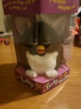 Furby 70-800  Series 1 Tiger Electronic Toy - Black and White