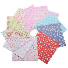 1 Pack Floral Square Folding Crane Origami Chiyogami Craft Lucky Wish Paper S8A5