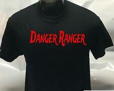 Danger Ranger Printed T-Shirt Tee Shirt T Shirt Mens Ladies Womens