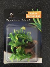 Aquatopia Mini Aquarium Plant with Suction Cap approx. 9cm