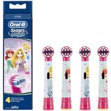 4 Oral-B Disney Prinzessin Stages Power Kinder Ersatz Elektro Zahnbürste Köpfe