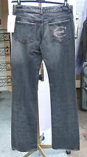 "BNWT Roberto Cavalli 28"" Gorgeous Designer Blue Jeans Fabulous Fit Studded C NEW"