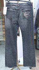 "Roberto Cavalli 28"" DESIGNER Blue Jeans Fabulous Fit Studded C"