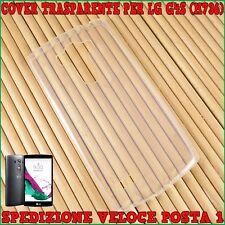 Cover custodia per LG G4S  H736 ULTRA SLIM in SILICONE 0,3 MM Trasparente