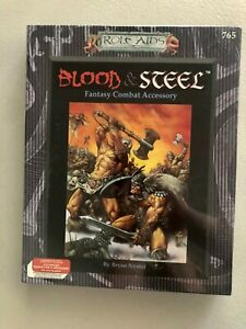 Role Aids Blood & Steel AD&D Combat Accessory Mayfair Games - New