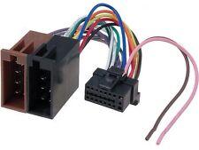 SONY mdx-c800rec AUTO RADIO STEREO mini-disc Player CABLAGGIO GUAINA FILO ISO
