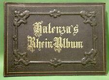 FOLTZ (F.) : Halenza's Rheinisches Album. Mayence, (vers 1860), 22 gravures