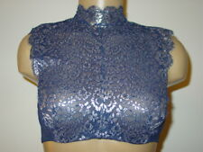 Victoria's Secret Dream Angels blue silver bra bralette high neck demi-34B-NEW