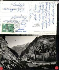 412633,Gasterntal Blick vom Gurnigel Bergkulisse Kt Bern