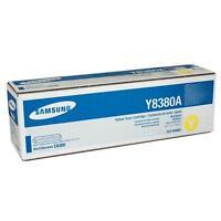 Original Samsung clx-y8380a MultiXpress c8380 tóner amarillo NUEVO a-artículo