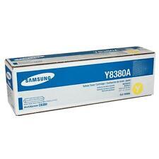 Original Samsung CLX-Y8380A MultiXpress C8380 Toner Yellow New A-Grade