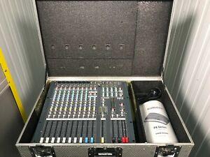 Allen & Heath PA12 8 Channel Mixer with metal flight case