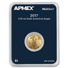 2017 1/10 oz Gold American Eagle (MintDirect® Single)