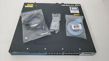 Cisco Catalyst WS-C3560X-24P-L 24 Port Gigabit PoE Network Switch