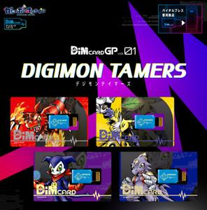 DIGIMON TAMERS Dim card GP vol.01 Vital Bracelet Accessories 4 Types Japan F/S