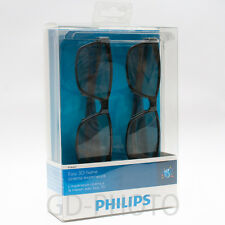 NEW PHILIPS PTA417 Passive Easy Home Cinema 3D TV Glasses Gafas Brille Occhiali