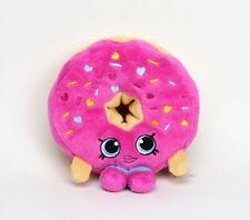 """Shopkins D'lish Donut Stuffed Plush Toy 6.5"""" EUC"""