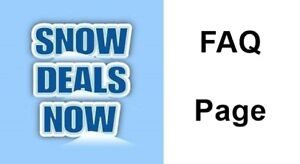 SnowDealsNow FAQ page