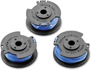 Karcher Replacement Lawn Garden Grass Trimmer Spool LTR 18 2.444-016.0 (3 Pack)