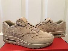 Womens Nike Air Max 1 Pinnacle Lab Wheat Linen Tan Gum Brown 839608-200 Size 6.5