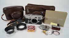 Vintage 1957 Ernst Leitz Leica M3 Viewfinder/Rangefinder 35mm Camera Body Bundle