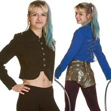 Military Circus Jacket, Fun Festival Costume, Boomtown Soldier Cropped Jacket