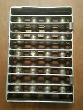 Vintage Metal Egg Shaped Candy Mold 20 Cavities. Easter. Chocolate mold