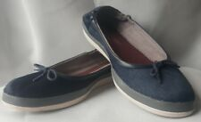 TOMMY BAHAMA Relaxology Caylee Women's Blue Ballet Flats /Boat Shoes Size 9 B B4