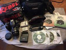 Canon Eos Rebel T2i 550D 18.0Mp Digital Slr Camera 18-55mm Lens Black Kit + Case