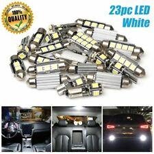 23pc LED White Car Light Bulb Interior Map Dome Trunk License Plate Lamps Kit US