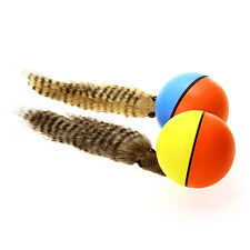 Pet Weasel Cat /Dog Chew Rolling Alive Toy Ball Plush Motorized Water Jump &Play