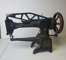 Singer 29-4 Industrial Sewing Machine – Leather Cobbler Patcher Antique Tool Vtg